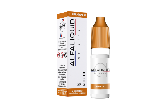 Noisette E-liquide Alfaliquid Original Gourmande
